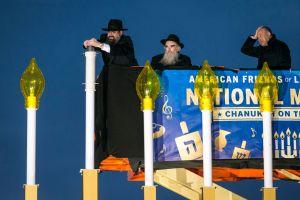 Happy Hanukkah! National Menorah Lit Near White House