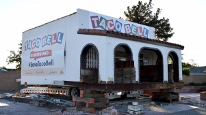 Time-Lapse Video Shows First Taco Bell Being Prepared to Move