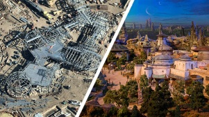 Look From Above: New Photos of Disneyland's Star Wars Land and More
