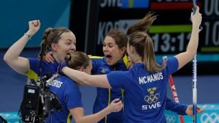 Feb. 25 Olympics Highlights in Photos: 'Garlic Girls' Falls to Sweden in Curling, OAR Wins Hockey Gold