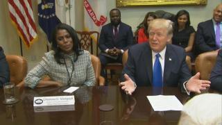 [NATL] Trump Tweets His Frustration at Omarosa's Press Tour, Calls Her a 'Dog'
