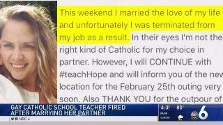 [MI] Teacher Says She Was Fired for Being Gay