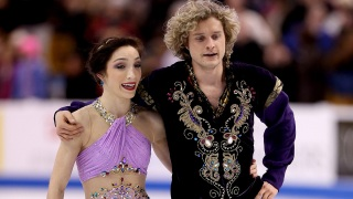U.S. Ice Dancers Ready for Olympic Gold