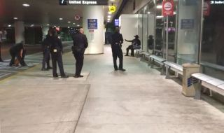 Man in Zorro Costume Detained Ahead of LA Airpot Chaos