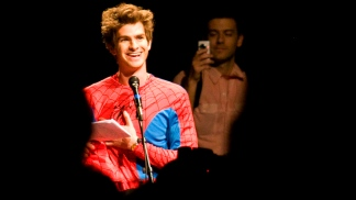 "Andrew Garfield Transforms Into ""The Amazing Spider-Man"""