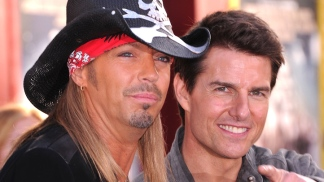 Bret Michaels Bonds with Tom Cruise