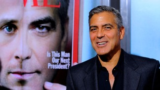 "George Clooney Dishes About the ""Ides of March."""