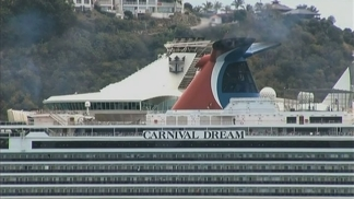 RAW VIDEO: Carnival Dream Docked in St. Maarten