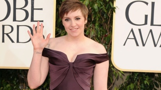 Lena Dunham on Golden Globes Excitement
