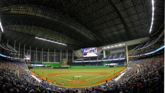 Miami Marlins Debut at New Ballpark