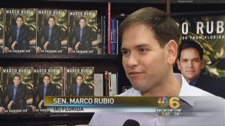 Rubio in SoFla for Book Signing