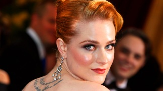 "Evan Rachel Wood on Skinny-Dipping with ""Ides Of March"" Cast"