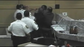 RAW VIDEO: Fort Lauderdale Courtroom Scuffle