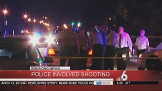 Miami-Dade Police Shoot and Kill Suspect Who Tried to Run Officers Over