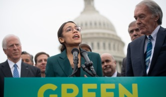 Democrats Seek Green New Deal to Address Climate Change