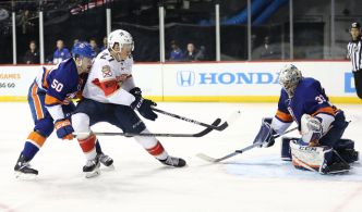 Dadonov, Reimer lead Panthers to Shutout Win Over Islanders