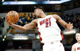Whiteside Scores Season High 27 Points in Heat Victory