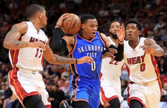 Oklahoma City Clinches Playoff Spot After Routing Miami Heat