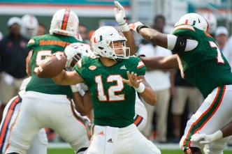 Miami Hurricanes Drop to No. 7 in Playoff Rankings