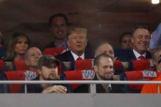Trump Draws Boos, 'Lock Him Up' Chants, at World Series Game