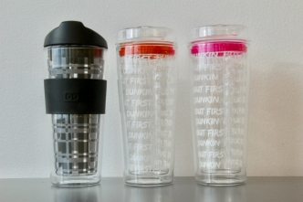 Dunkin' Donuts Glass Tumblers Recalled Due to Hazards