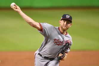 Strasburg Strikes Out 11 as Washington top Miami Marlins