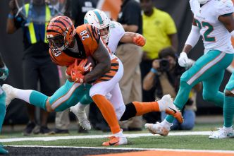 Dolphins Blow 17-Point Lead, Lose to Cincinnati Bengals