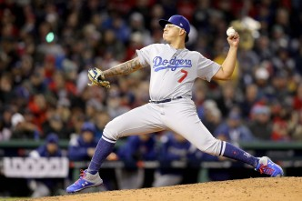 Dodgers Pitcher Julio Urias Arrested on Suspicion of Domestic Violence