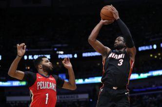 Wade Makes More Big Easy Memories as Heat Beat Pelicans
