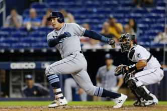 Duo Leads Tampa Bay to Shutout Win Over Miami Marlins