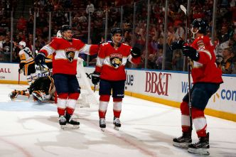 Huberdeau Leads Florida Panthers Over Pittsburgh Penguins