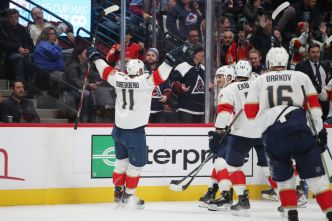 Huberdeau Scores in OT as Panthers Rallies to Beat Colorado