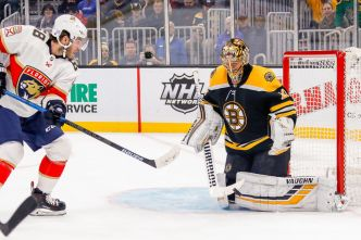 Massive Rally Helps Florida Panthers Beat Boston Bruins in Shootout