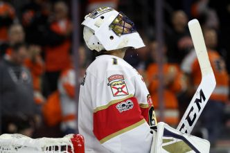 Luongo Stops 35 Shots in Panthers' Shutout Win over San Jose