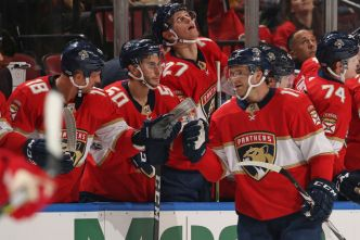 Huberdeau, Trocheck Help Florida Panthers Get Shootout Win
