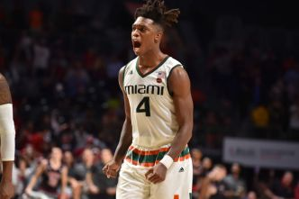 Big Night From Walker IV Helps Miami Hold Off Notre Dame