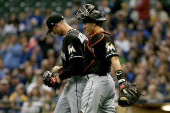 Walk-Off Homer Leads Milwaukee Brewers Past Marlins