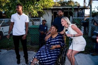 Marlins Outfielder Surprises Family In Need with Car