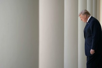 In Run-Up to Missile Strike, an Orderly, Chaotic White House