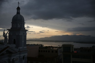 Cuba Prepares for Threat of Hurricane Matthew