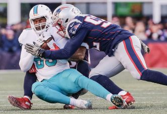 Fins Drop Fifth Straight Game After Loss to Patriots