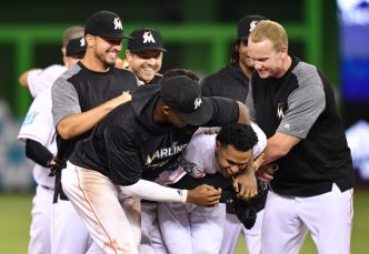 Late Game Heroics Lead Marlins to Win Over Philadelphia
