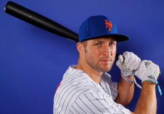 Former UF Star Tim Tebow Demoted to Mets' Minor League Camp