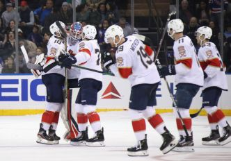 Trocheck Helps Panthers Outlast New York Rangers in Shootout