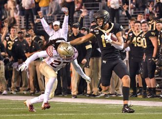 Wake Forest Beats Florida State Thanks to 5th Field Goal