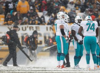 Dolphins Preparing For Cold Weather Ahead of Sunday's Game