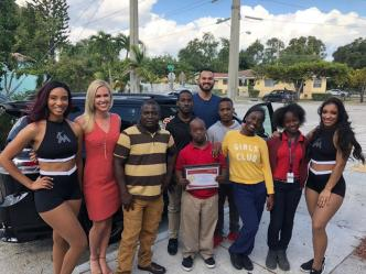 Marlins Pitcher Surprises Special Olympian And Family With New Minivan