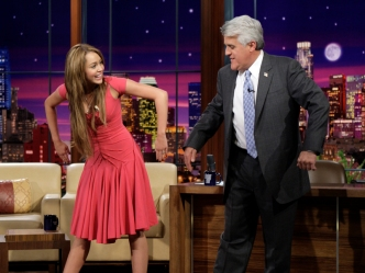 "Miley Cyrus, Tom Cruise to Appear on ""The Jay Leno Show"""