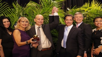 Rudy Diaz Named Miami-Dade Teacher of the Year