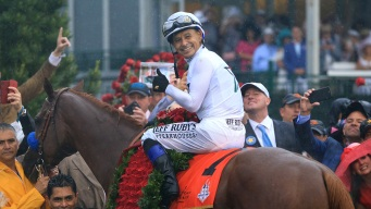 Justify Jockey Mike Smith Back on Familiar Turf at Belmont